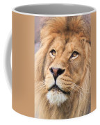 Lion In Deep Thought Coffee Mug