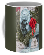 Lion In Winter Coffee Mug