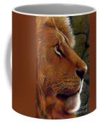Lion King Coffee Mug by Jurek Zamoyski
