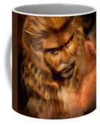 Lion Man Coffee Mug