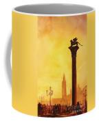 Lion Of San Marco Sunset Coffee Mug