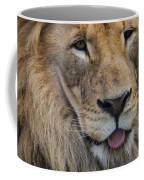 Lion Portrait Panting Coffee Mug