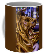 Lion Roaring Carrousel Ride Coffee Mug
