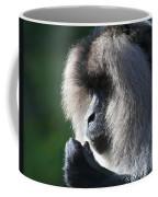 Lion Tailed Macaque Coffee Mug