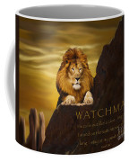 Lion Watchman Coffee Mug