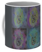 Lion X 4 Color  By Jrr Coffee Mug