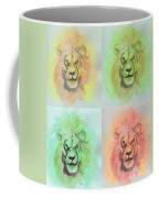 Lion X 4  Coffee Mug