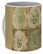 Lion X 4 One Coffee Mug