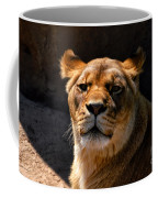 Lioness Hey Are You Looking At Me Coffee Mug