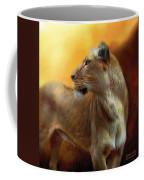 Lioness Is Near Coffee Mug