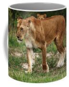 Lioness On The Masai Mara Coffee Mug