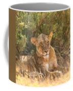 Lioness  Panthera Leo Resting Coffee Mug