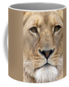 Lioness Portrait Coffee Mug