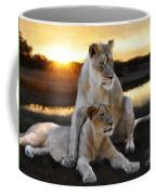 Lioness Protector Coffee Mug