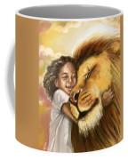 Lion's Kiss Coffee Mug by Tamer and Cindy Elsharouni