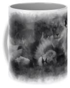 Lions Photo Art 01 Coffee Mug