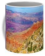 Lipan Point View On East Side Of South Rim Of Grand Canyon-arizona   Coffee Mug