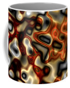 Liquid Mercury And Rust Coffee Mug