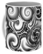 Liquid Metal Coffee Mug