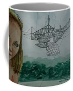 Amber Listening For Aliens At Arecibo Coffee Mug