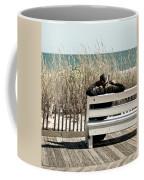 Listening To The Waves Coffee Mug