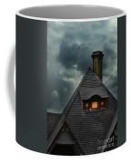 Lit Attic Window Coffee Mug