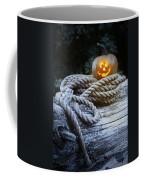 Lit Pumpkin Coffee Mug