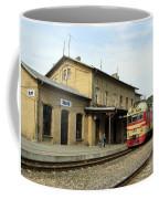 Lithuania. Silute Train Station. 2008 Coffee Mug