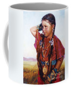 Little American Beauty II Coffee Mug