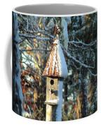 Little Birdhouse In The Woods Coffee Mug
