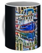 Little Blue Boat Hdr Coffee Mug