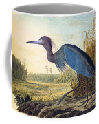 Little Blue Heron Coffee Mug by Celestial Images