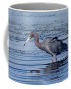 Little Blue Heron Egretta Caerulea Coffee Mug