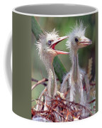 Little Blue Heron Egretta Caerulea Coffee Mug