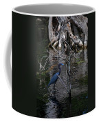 Little Blue Heron Coffee Mug by Skip Willits