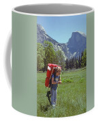 Mp-441-little Boy Big Pack  Coffee Mug