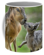Little Cavy With Mother Coffee Mug