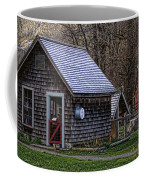 Little Cedar Shake Building Coffee Mug
