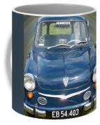 Little Cute  Blue Vintage Princess Austin Car  Coffee Mug
