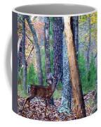 Little Deer In Autumn Coffee Mug