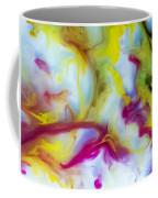 Little Dragon Watercolor Abstract Painting Coffee Mug
