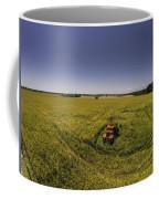 Little Firetruck In A Big Field Coffee Mug