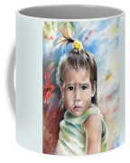 Little Girl From Tahiti Coffee Mug