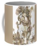 Little Girl Tattoed Coffee Mug