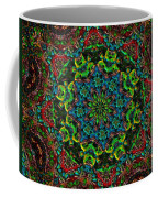 Little Green Men Kaleidoscope Coffee Mug