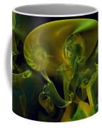 Little Green Seahorse  Coffee Mug