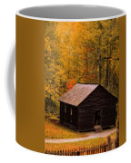 Little Greenbrier Schoolhouse In Autumn  Coffee Mug