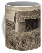 Little House In The Sage Bw Coffee Mug