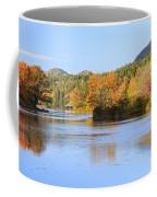 Little Long Pond And Bubbles Mount Desert Island Maine Coffee Mug