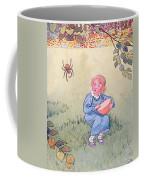 Little Miss Muffet Coffee Mug by Leonard Leslie Brooke